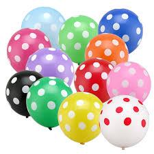 12 Polka Dot Air Balloons Delivery Mumbai