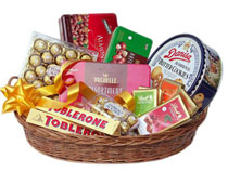 Large Basket of Mixed Chocolates