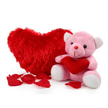 Teddy 6 inches with Valentine Heart