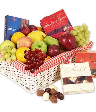 Fruits chocolates