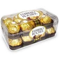 16 ferrero chocolate box
