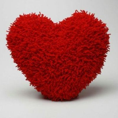 12 inches Valentine Heart Cushion